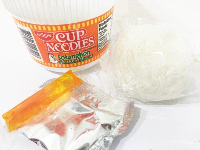 カップヌードルのソタンゴン味の写真
