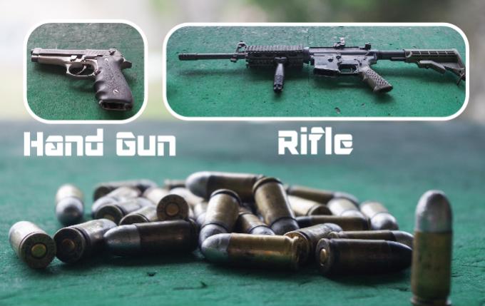 拳銃の種類