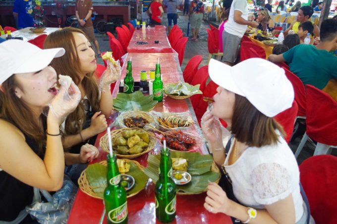 フィリピンスタイルの食事写真