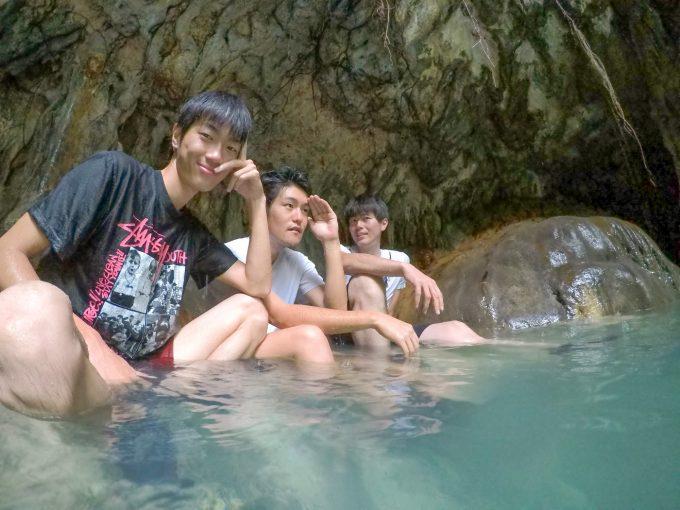 ダイナミックツアーの温泉の写真