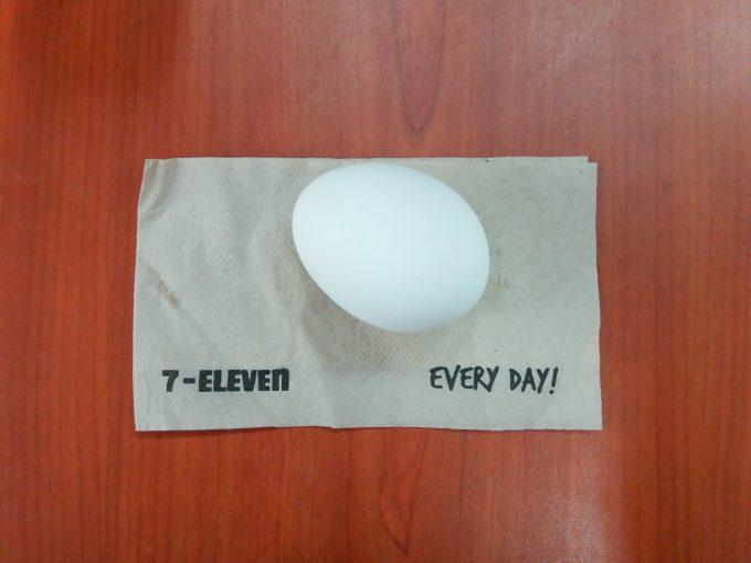 セブンのゆで卵の写真