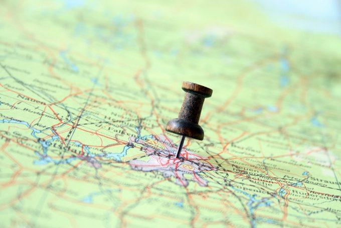 地図のイメージ写真
