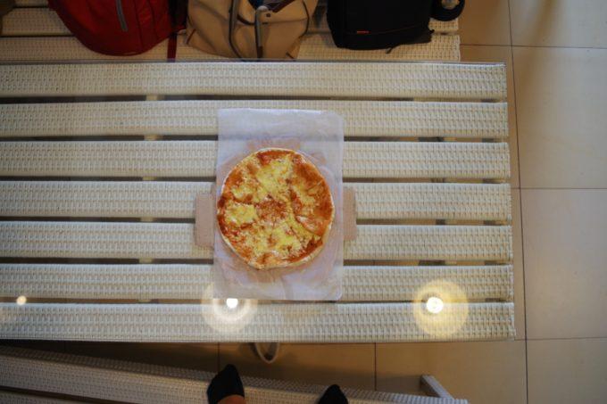 カルダピザのレギュラーサイズの写真