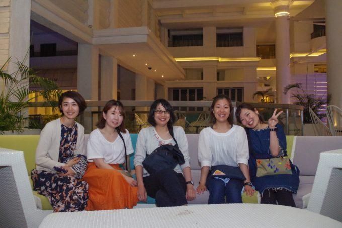 ダズリングナイトツアー参加の女子5名