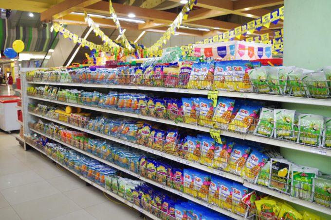 ドライマンゴー売り場の写真