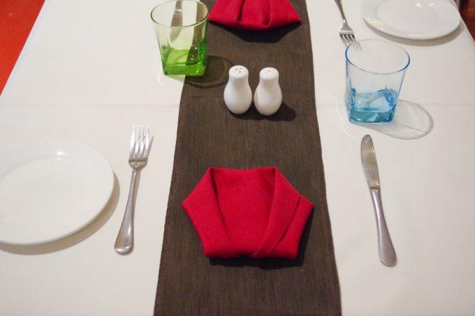 ラーティザンのテーブルメイキングの写真
