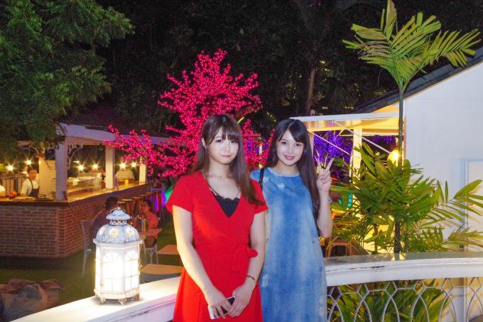 ラヴィパリジャンでの美人姉妹