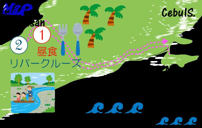 リトルエルニドツアーの工程表
