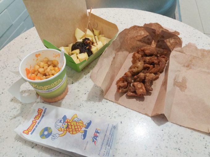 SMセブシティーの食べ歩きでおすすめの食べ物