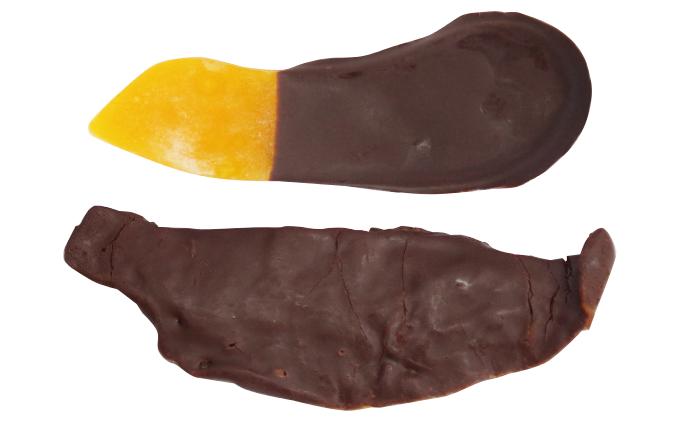 チョコ掛けマンゴーのイメージ写真