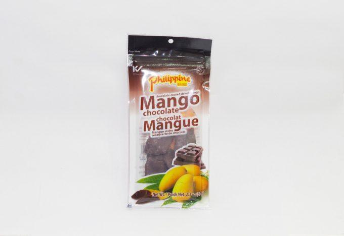 Philippine brandのチョコ掛けマンゴー