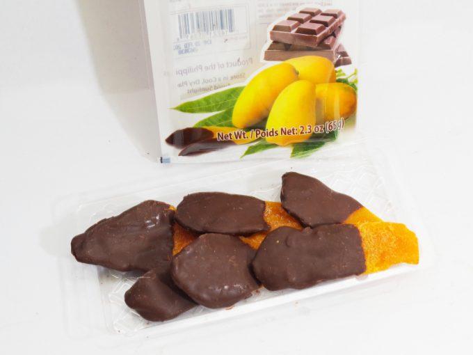 Philippine Brandのチョコ掛けマンゴーの中身