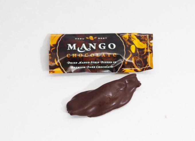 Cebu Bestのチョコ掛けマンゴーの個包装