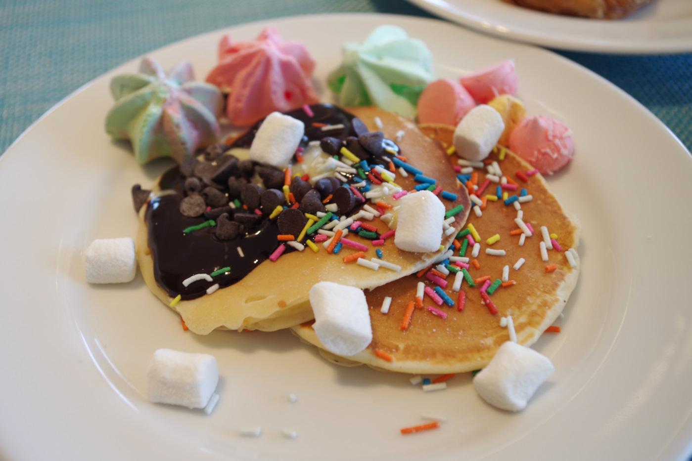 デュシタニホテルのパンケーキ