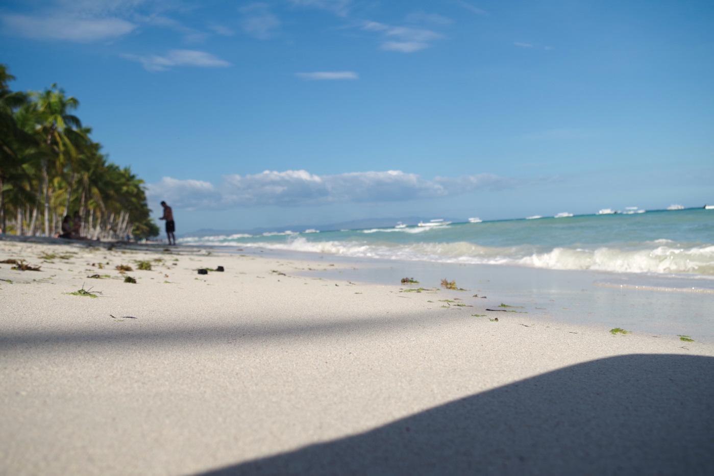 サウスパームホテルのビーチ2