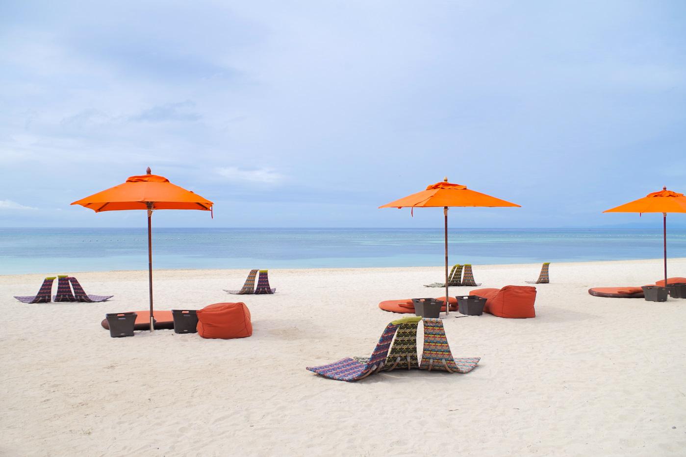 サウスパームホテルのビーチシート