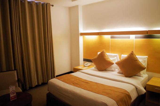 ビッグ8ホテルの部屋