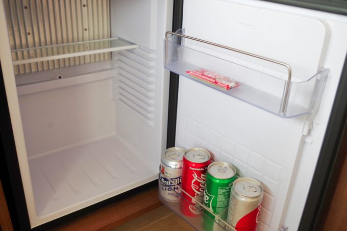 クリムゾンボラカイの冷蔵庫