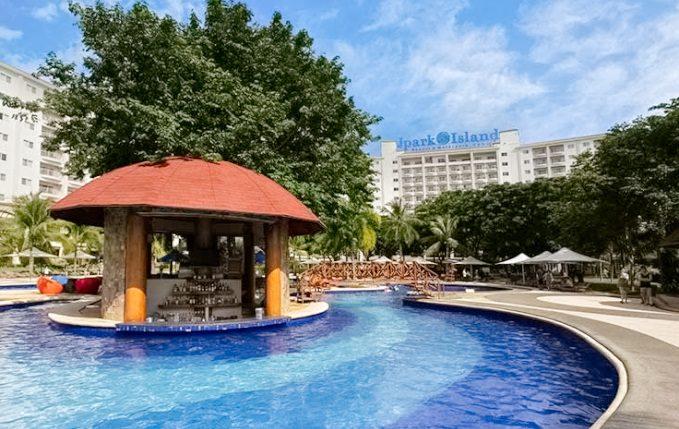 ジェイパークホテルのプール