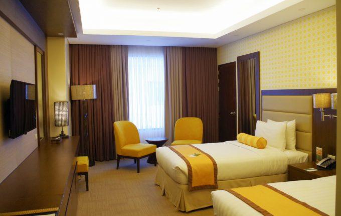 マアヨホテルのデラックスルーム
