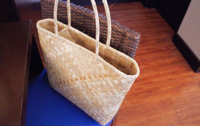 サウスパームホテルのホテル内用のバッグ