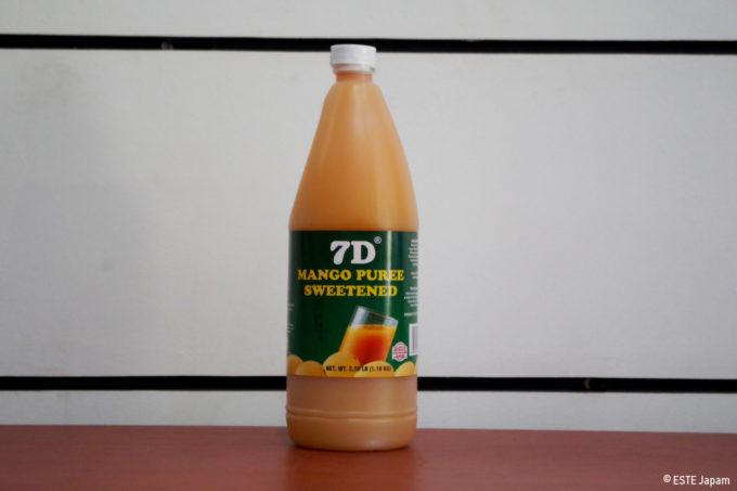 7Dのマンゴージュースの原液