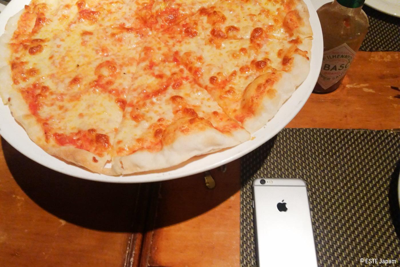 ミケランジェロのピザ