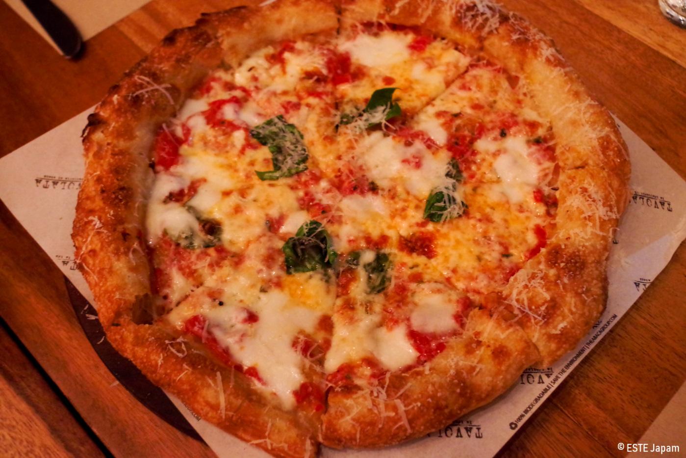 タボラータのピザ
