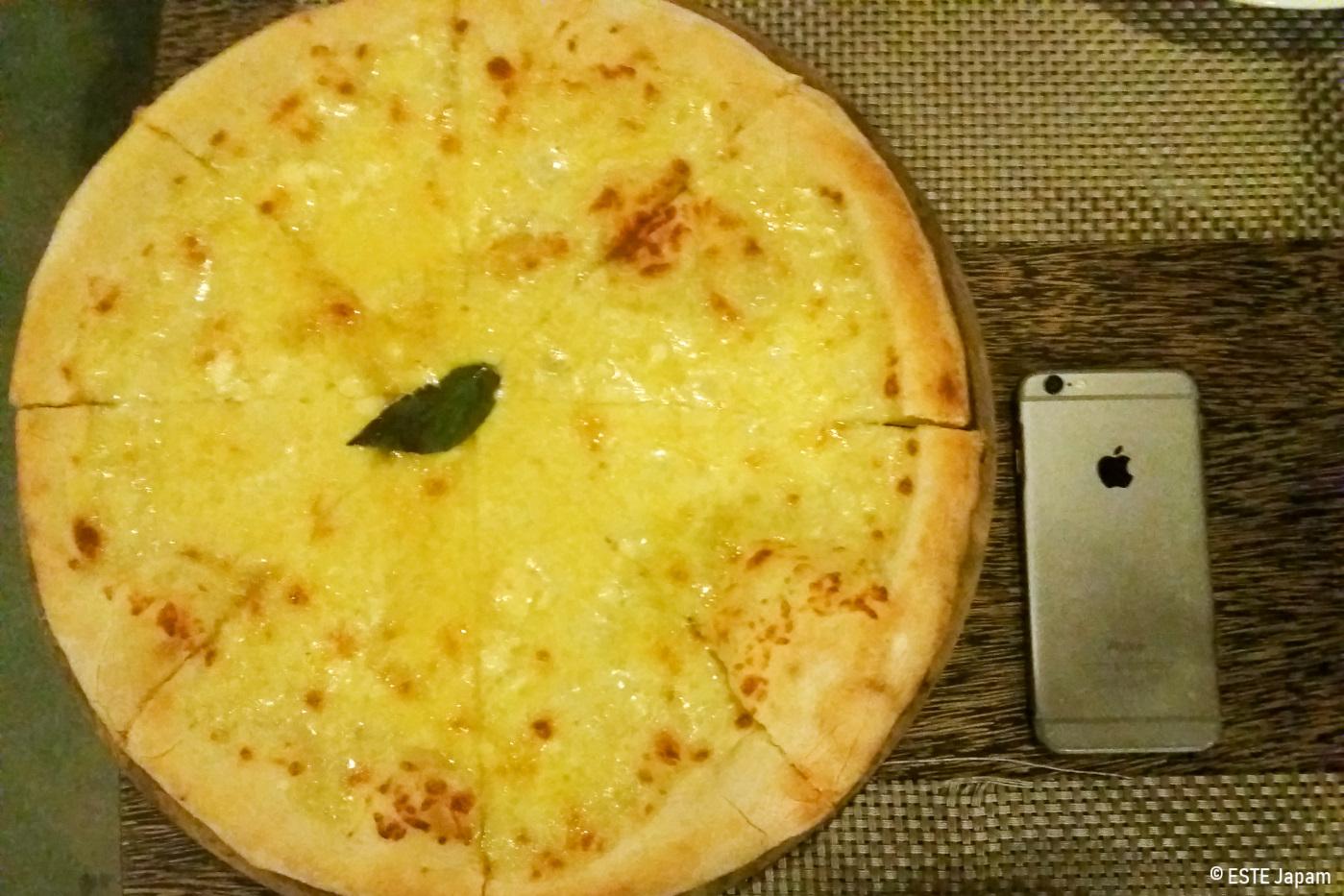 アスマラのマルゲリータピザ