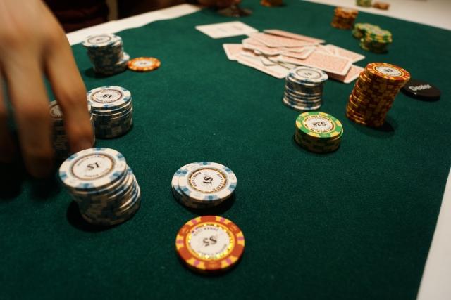 カジノのチップのイメージ画像