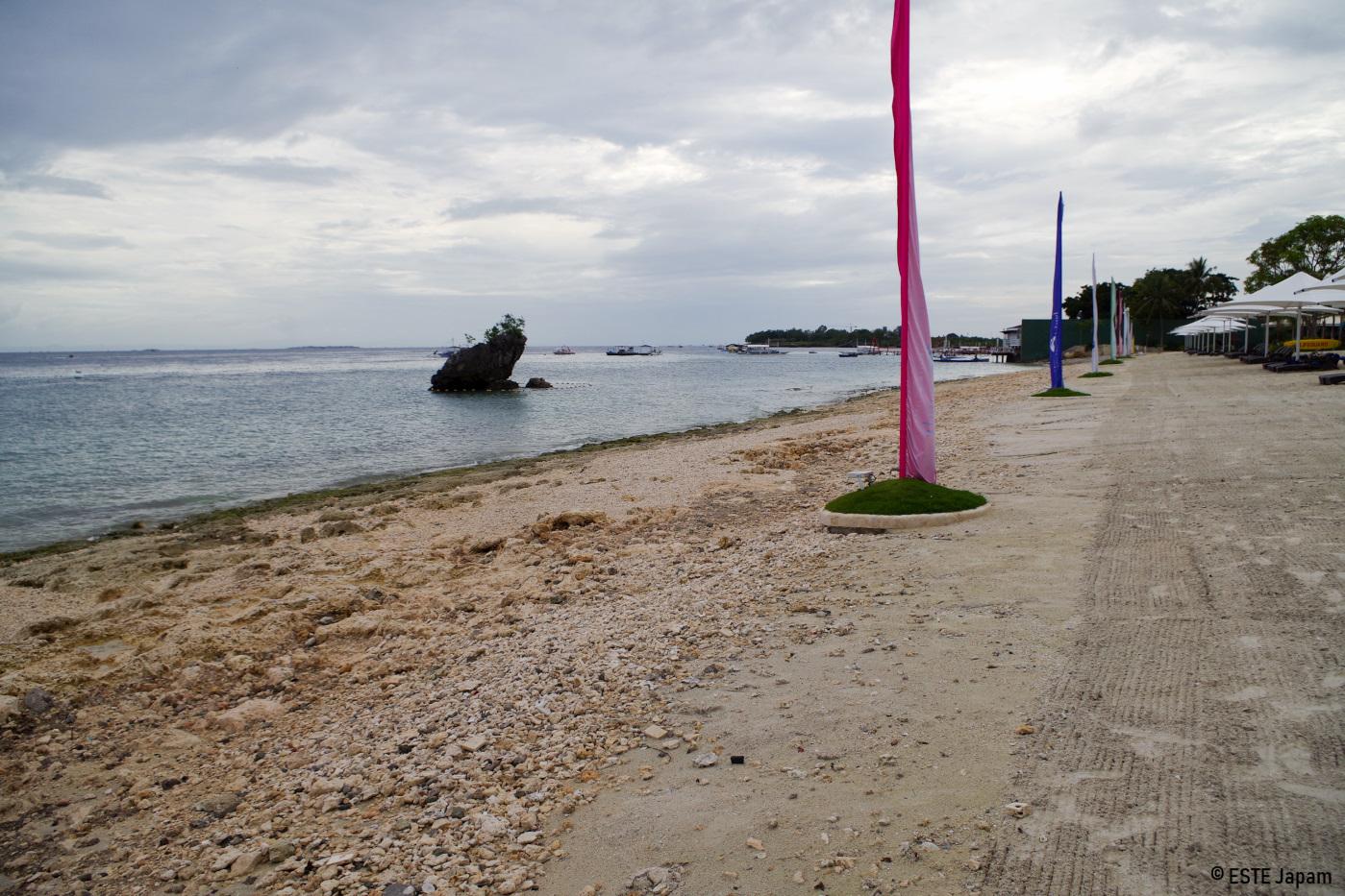 Jパークホテルのビーチの現実