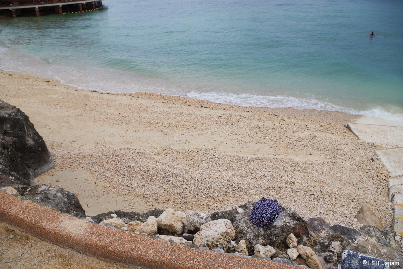 Jパークホテルのビーチの現実2
