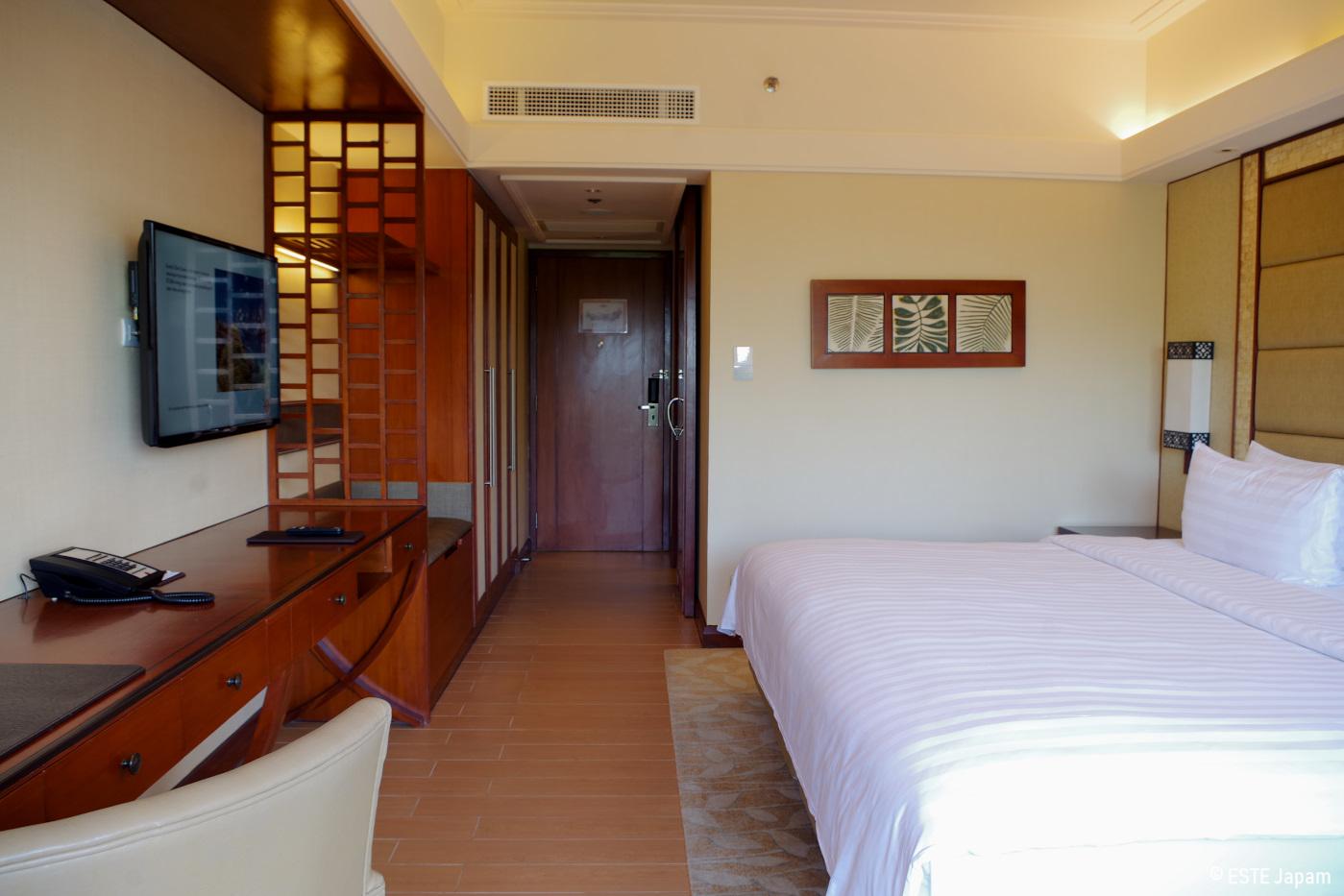 シャングリラホテルの部屋
