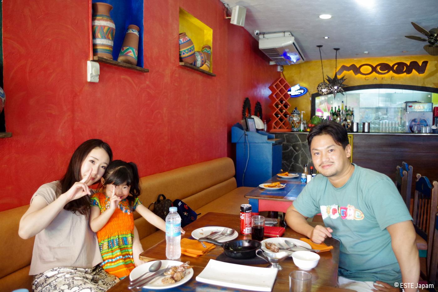 セブの大食いツアーで行ったムーンカフェ