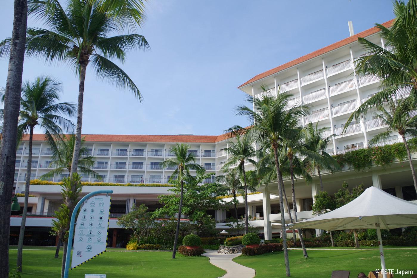 シャングリラホテルの外観
