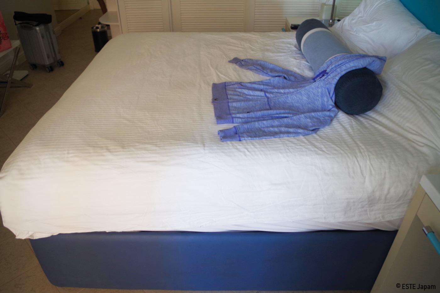 モーベンピックホテルのベッド
