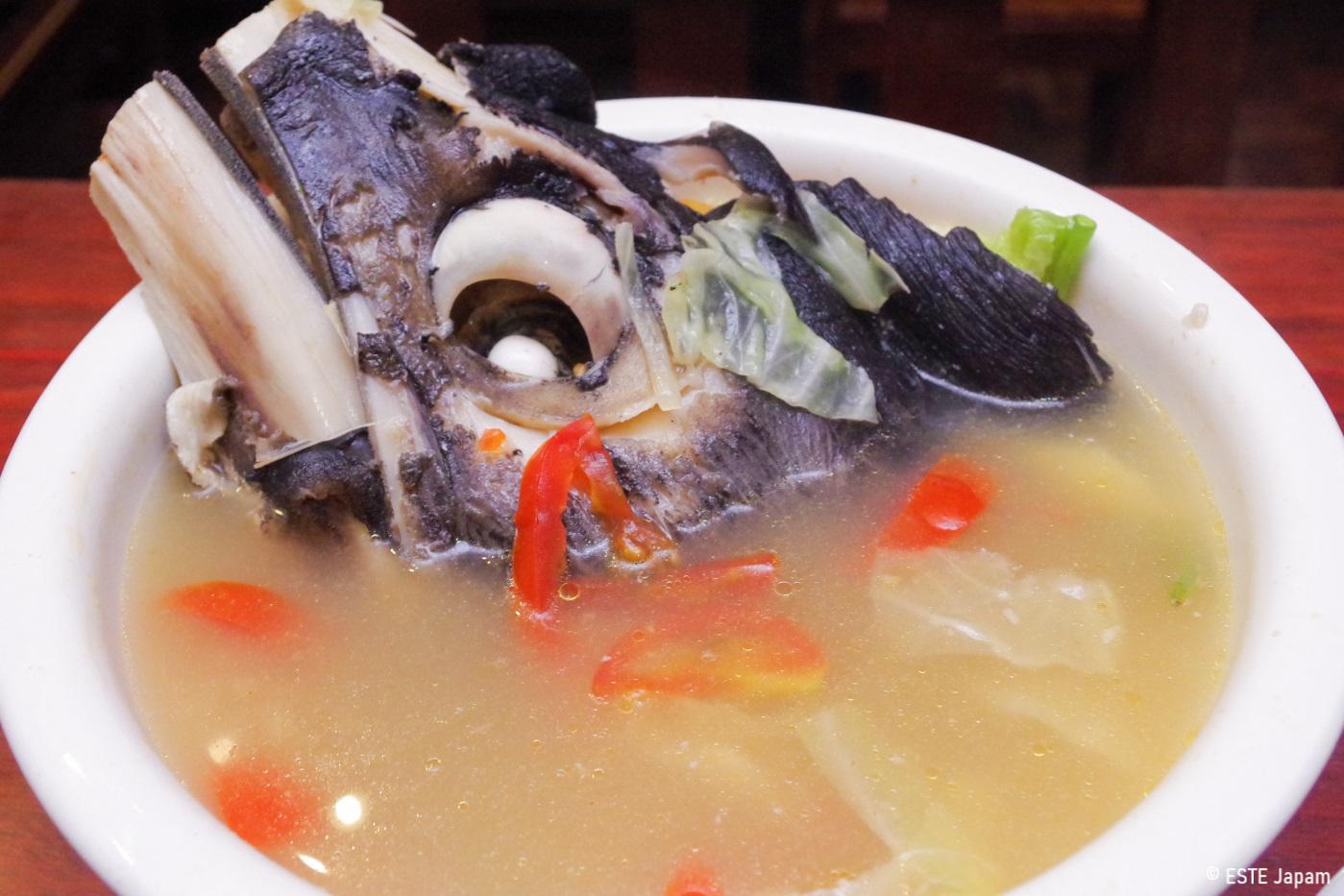 STKタベイのカマのスープ