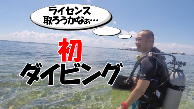 初体験ダイビングのサムネイル画像