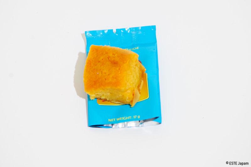 ローカルお菓子バタースコッチの中身